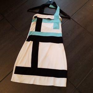 Arden B Stretch Mini Dress Colorblocked